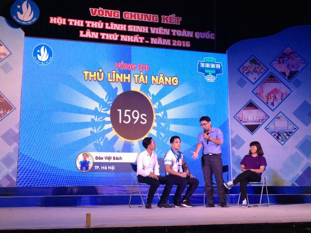 Thủ lĩnh sinh viên Việt Nam tranh tài - Ảnh 1.