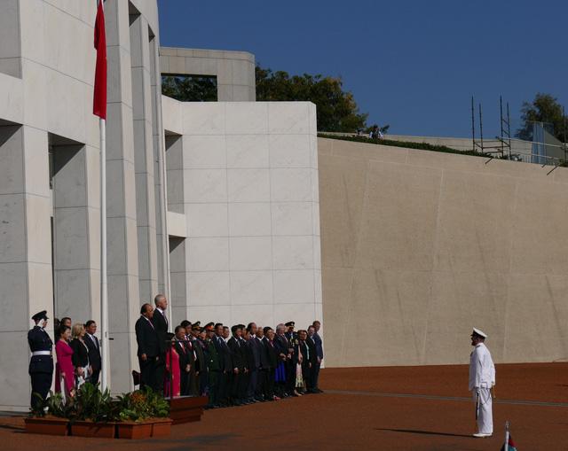 19 loạt đại bác chào mừng Thủ tướng Nguyễn Xuân Phúc thăm Australia - ảnh 6