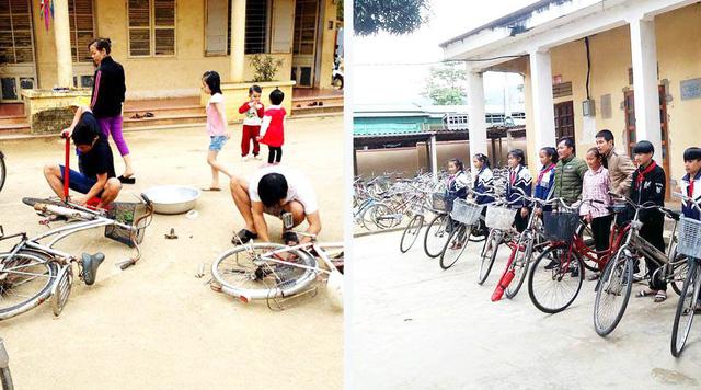 Ai có xe đạp cũ tặng học sinh miền núi? - Ảnh 1.