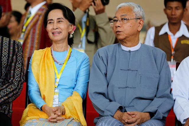 Tổng thống Myanmar bất ngờ từ chức - Ảnh 2.