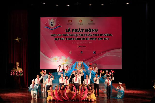 Phát động cuộc thi Tuổi trẻ học tập và làm theo tư tưởng, đạo đức, phong cách Hồ Chí Minh - Ảnh 1.