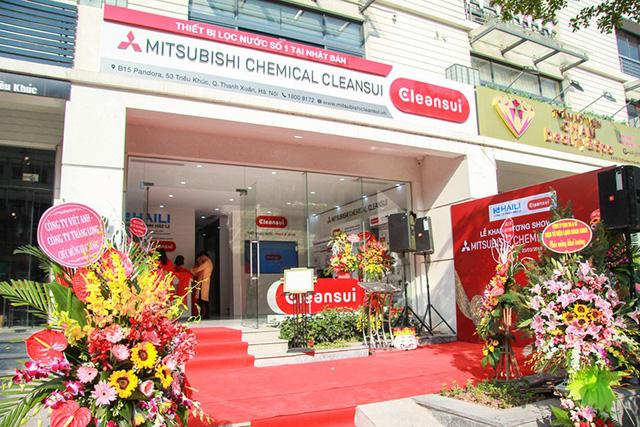 Mitsubishi Cleansui khai trương showroom chính thức tại Hà Nội - Ảnh 1.