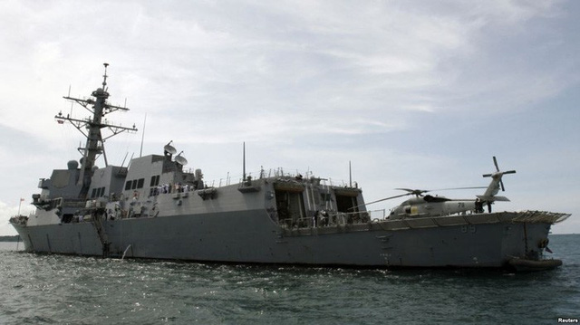 Trung Quốc tuyên bố tập trận trên Biển Đông - Ảnh 1.