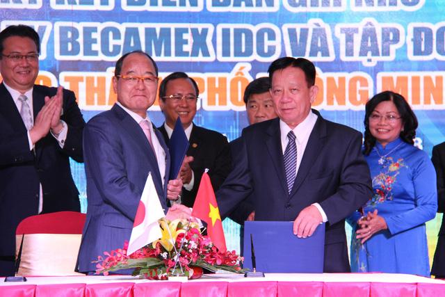 Bình Dương hợp tác Nhật Bản phát triển hạ tầng công nghệ - Ảnh 1.