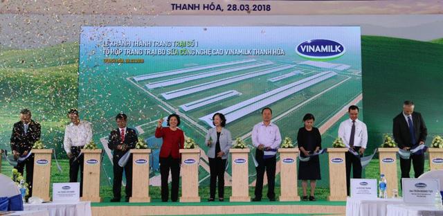Vinamilk khánh thành trang trại bò sữa công nghệ cao tại Thanh Hóa - Ảnh 1.