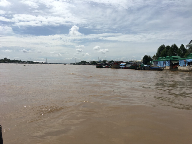 Thuỷ điện thượng nguồn Mekong làm gia tăng sạt lở ở ĐBSCL - Ảnh 1.