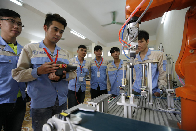 Trường dạy nghề phải chủ động tìm đến doanh nghiệp - Ảnh 1.