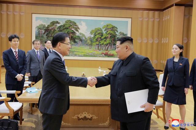 Triều Tiên hy vọng viết nên lịch sử thống nhất mới với Hàn Quốc - Ảnh 1.