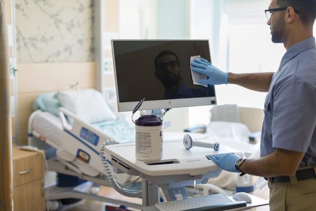 HP ra mắt máy tính có khả năng chống vi khuẩn cho bệnh viện - Ảnh 2.