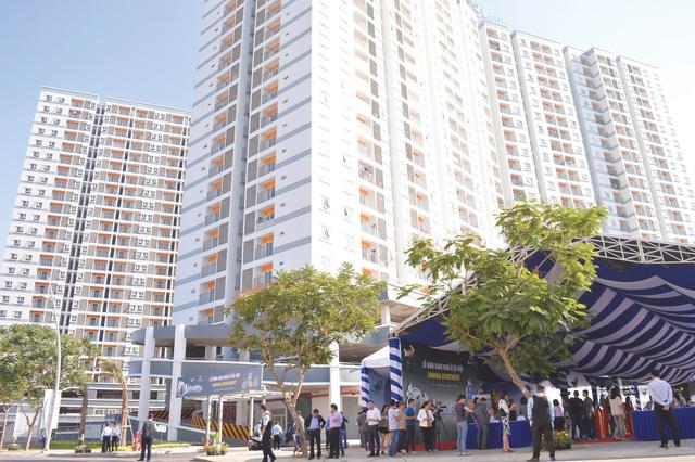 Nhu cầu nhà ở xã hội ở TP.HCM rất lớn - Ảnh 1.
