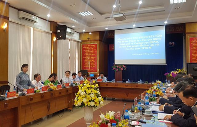 Cục Hải quan TP.HCM quyết tâm hoàn thành nhiệm vụ năm 2018 - Ảnh 1.
