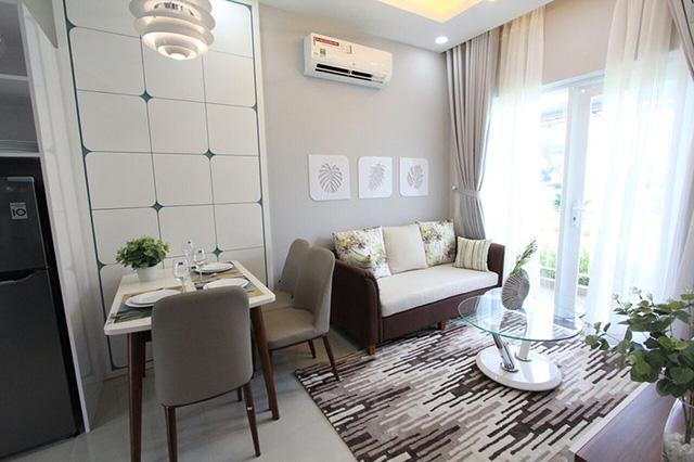 Mãn nhãn với thiết kế nội thất ở căn hộ 600 triệu - Ảnh 1.