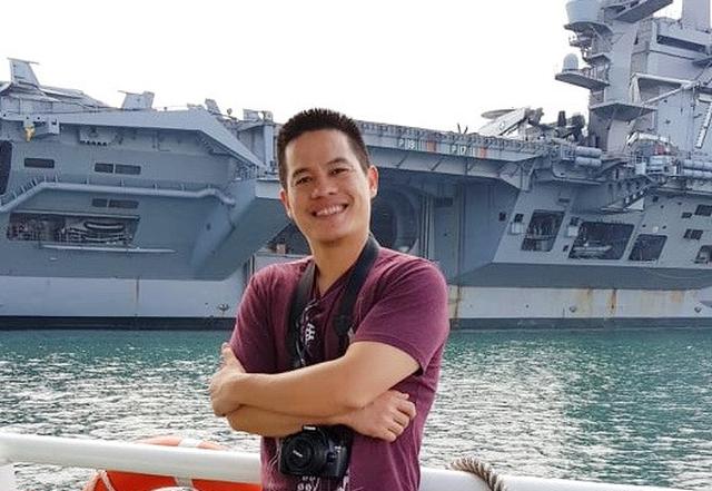 Thủy thủ tàu sân bay Mỹ: Mừng rơi nước mắt khi về Việt Nam - Ảnh 1.