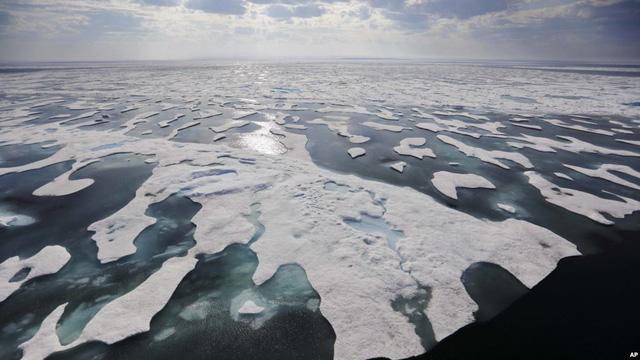 Bắc Cực đang có mùa đông ấm kỷ lục - Ảnh 1.