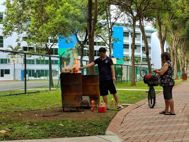 Bí mật văn hóa làng ở chung cư Singapore - Ảnh 3.
