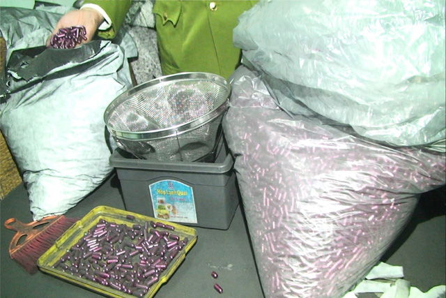 Tịch thu cả tấn hóa mỹ phẩm làm từ... bột than tre - Ảnh 3.