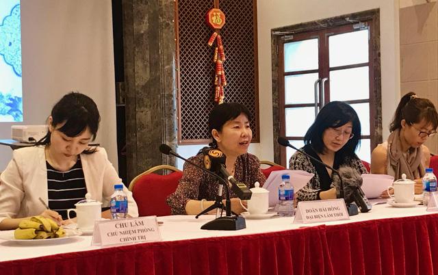 Đại sứ quán Trung Quốc họp báo, trả lời về hợp tác Vành đai Con đường - Ảnh 1.