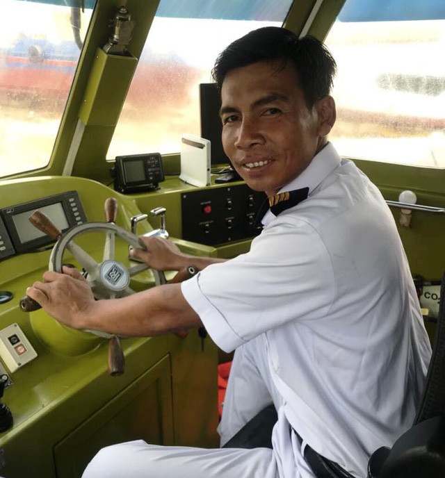 Gặp thuyền trưởng vụ chìm tàu ở Cần Giờ, đưa 42 người lên bờ