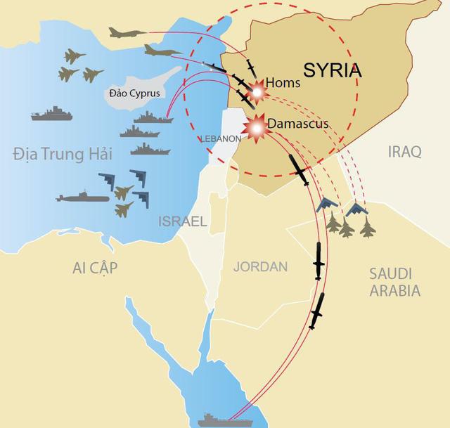 Vì sao Nga không đánh chặn tên lửa liên quân bắn vào Syria? - Ảnh 3.