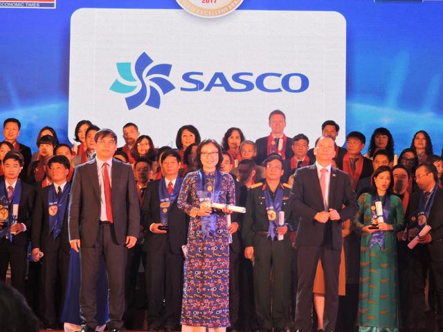 SASCO đạt Top 10 Doanh nghiệp Thương hiệu mạnh Việt Nam - Ảnh 1.