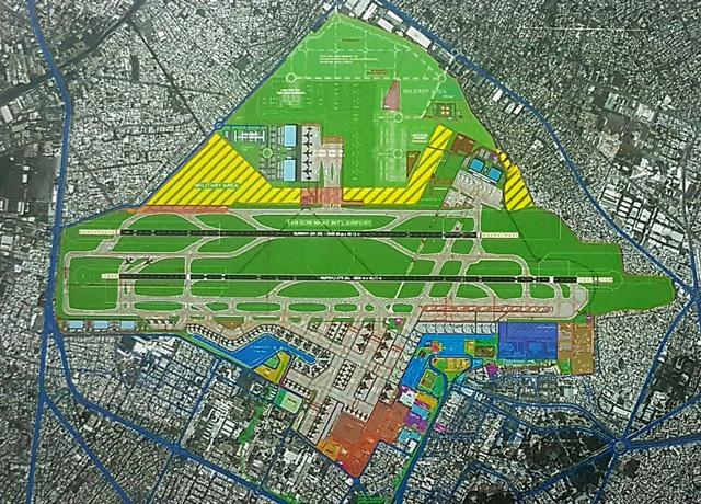 Thủ tướng: Sử dụng đất cả phía nam và bắc sân bay Tân Sơn Nhất - Ảnh 1.