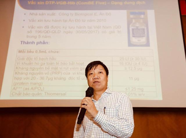 Tháng 6-2018: thay Quinvaxem bằng vắcxin mới ComBE Five - Ảnh 1.