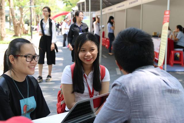 Kết nối sinh viên với doanh nghiệp - Ảnh 1.