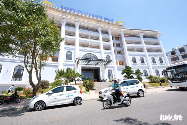 Ngân hàng Quân Đội thu khách sạn Bavico Đà Lạt để siết nợ - ảnh 1