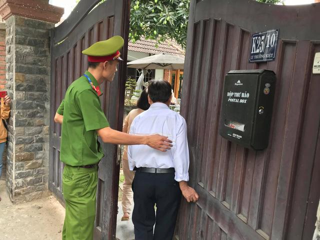 Công an khám xét nhà 2 cựu chủ tịch Đà Nẵng liên quan Vũ nhôm - Ảnh 1.