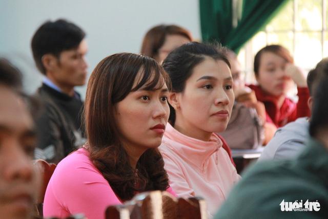 Đắk Lắk cử công an giám sát kỳ thi giáo viên tại Krông Pắk - Ảnh 1.