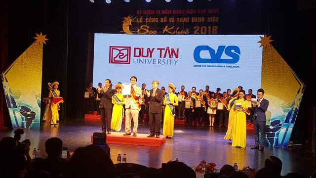 Giải thưởng Sao khuê 2018 vinh danh Ứng dụng 3D trong Y học của ĐH Duy Tân - Ảnh 1.