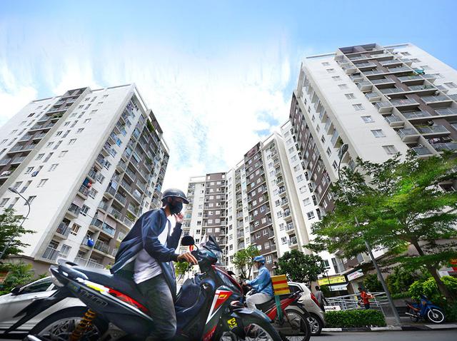 Khu trung tâm TP.HCM, Hà Nội đang nghẹt thở với cao ốc, chung cư - Ảnh 1.