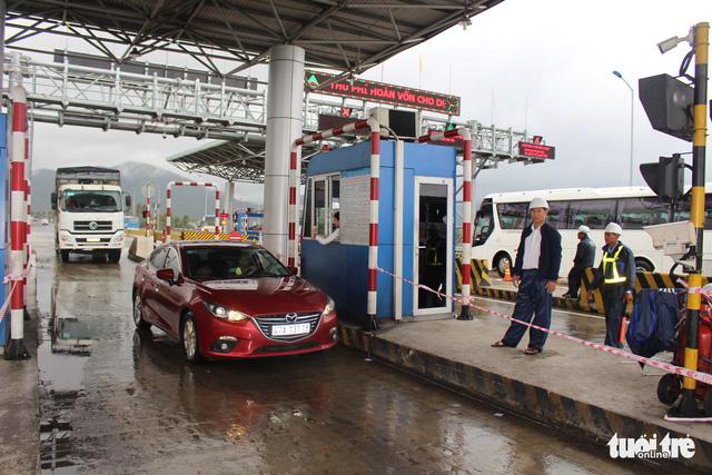 Giảm phí cho gần 1.300 xe khi qua BOT Ninh Lộc - Ảnh 1.