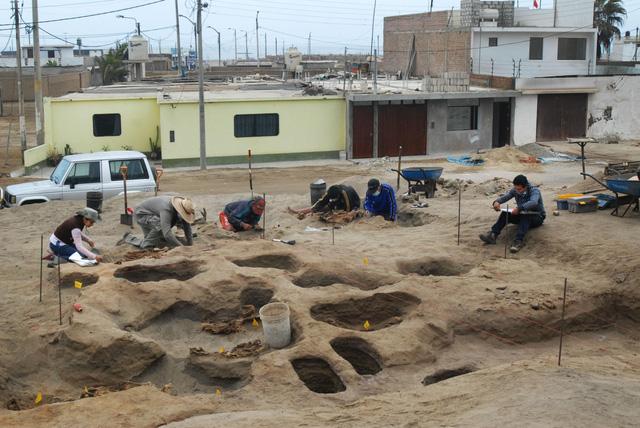 Kỳ bí ngôi mộ chôn nhiều hài cốt trẻ em cùng lạc đà ở Peru - Ảnh 1.