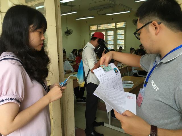 Gần 80.000 thí sinh Hà Nội dự thi THPT quốc gia năm 2018 - Ảnh 1.