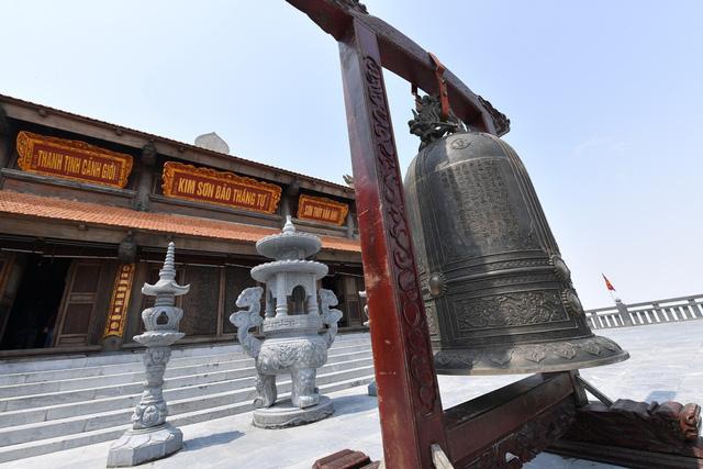 Cận cảnh những kiến trúc thời Trần được tái hiện trên đỉnh Fansipan - Ảnh 2.