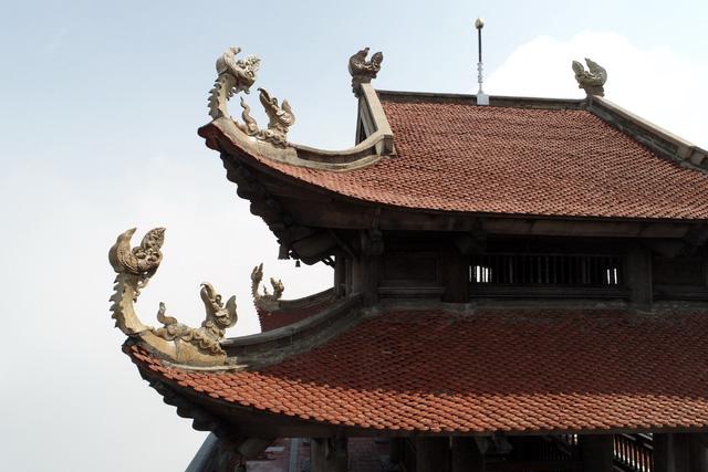 Cận cảnh những kiến trúc thời Trần được tái hiện trên đỉnh Fansipan - Ảnh 7.