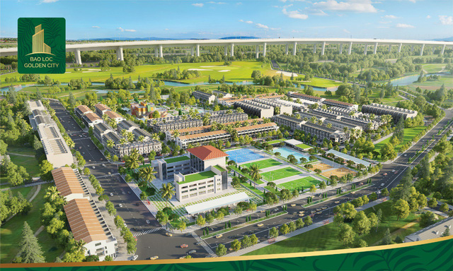 Mở bán dự án Bảo Lộc Golden City với nhiều ưu đãi - Ảnh 1.