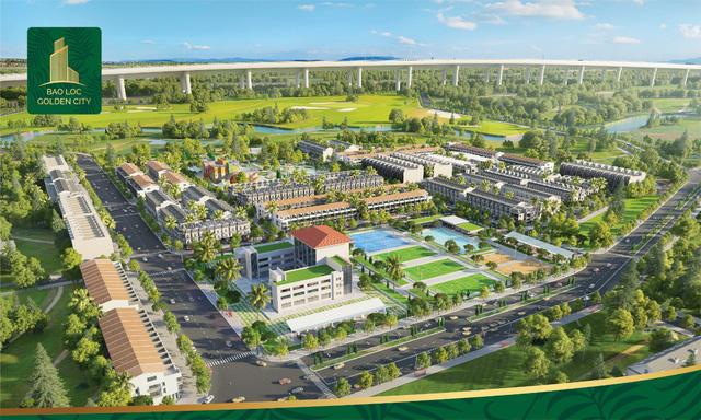 Mở bán dự án Bảo Lộc Golden City với nhiều ưu đãi - Ảnh 2.