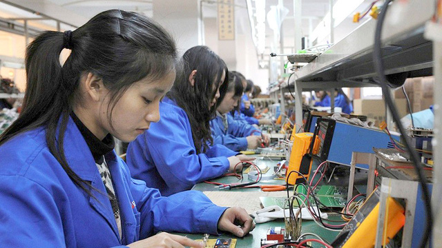 Chỉ tuyển lao động nam ở Trung Quốc - Ảnh 1.