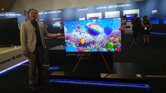 Ra mắt TV QLED 2108 tại Việt Nam: nâng tầm trải nghiệm nghe nhìn - Ảnh 1.
