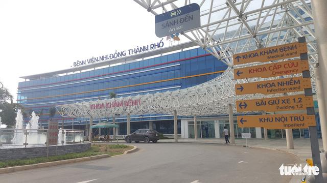 Khánh thành Bệnh viện Nhi đồng TP.HCM ngày 1-6 - Ảnh 2.