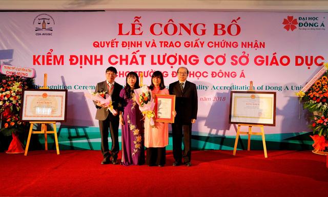 ĐH Đông Á đạt chuẩn kiểm định chất lượng giáo dục - Ảnh 1.