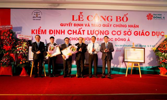ĐH Đông Á đạt chuẩn kiểm định chất lượng giáo dục - Ảnh 2.