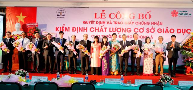 ĐH Đông Á đạt chuẩn kiểm định chất lượng giáo dục - Ảnh 3.