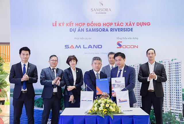 Tập đoàn Socon sẽ là tổng thầu xây dựng Block B Samsora Riverside - Ảnh 1.