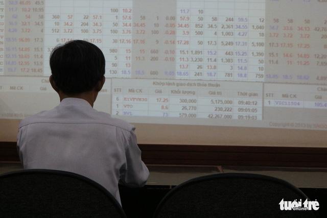 Cổ phiếu Vingroup, Vincom Retail đỏ sàn trước ngày Vinhomes niêm yết - Ảnh 1.
