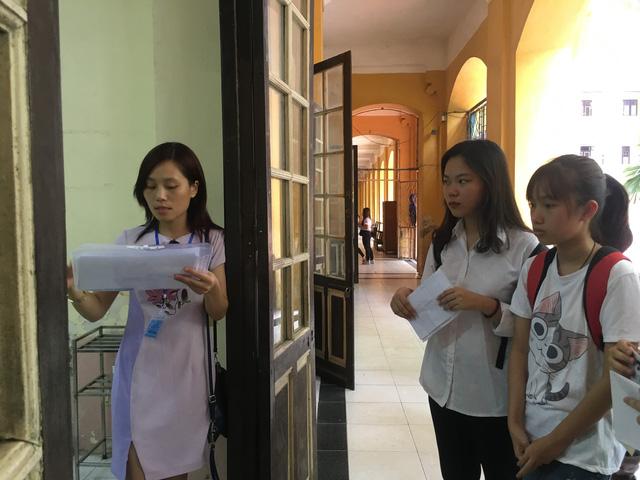 Hà Nội có 123 điểm thi THPT quốc gia năm 2018 - Ảnh 1.