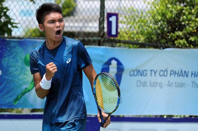 Trịnh Linh Giang gây địa chấn ở giải Vietnam F3 Futures - Ảnh 1.