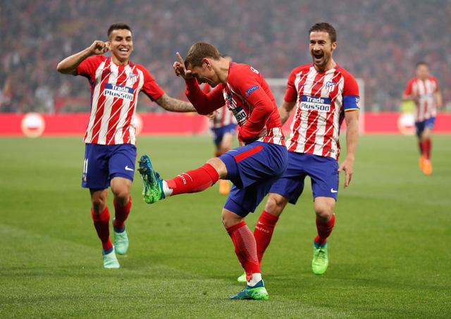 Đè bẹp Marseille, Atletico Madrid vô địch Europa League - Ảnh 5.
